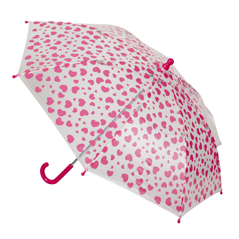 Happy Rain børneparaply med motiv