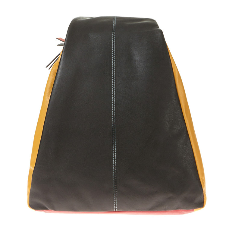 Pia Ries stor combi-rygsæk i skind