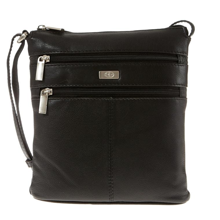 Bon Goût lille flad taske i skind