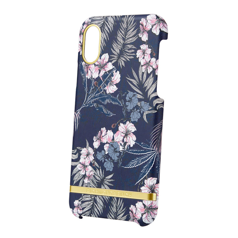 Richmond & Finch Flora Jungle iPhone cover med aftagelig gummikant
