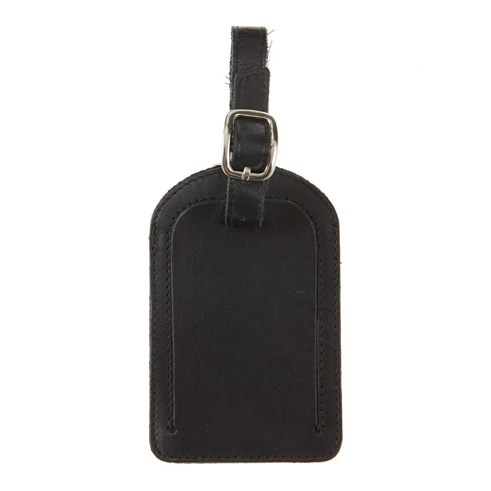 Cazzac kuffertmærke i skind