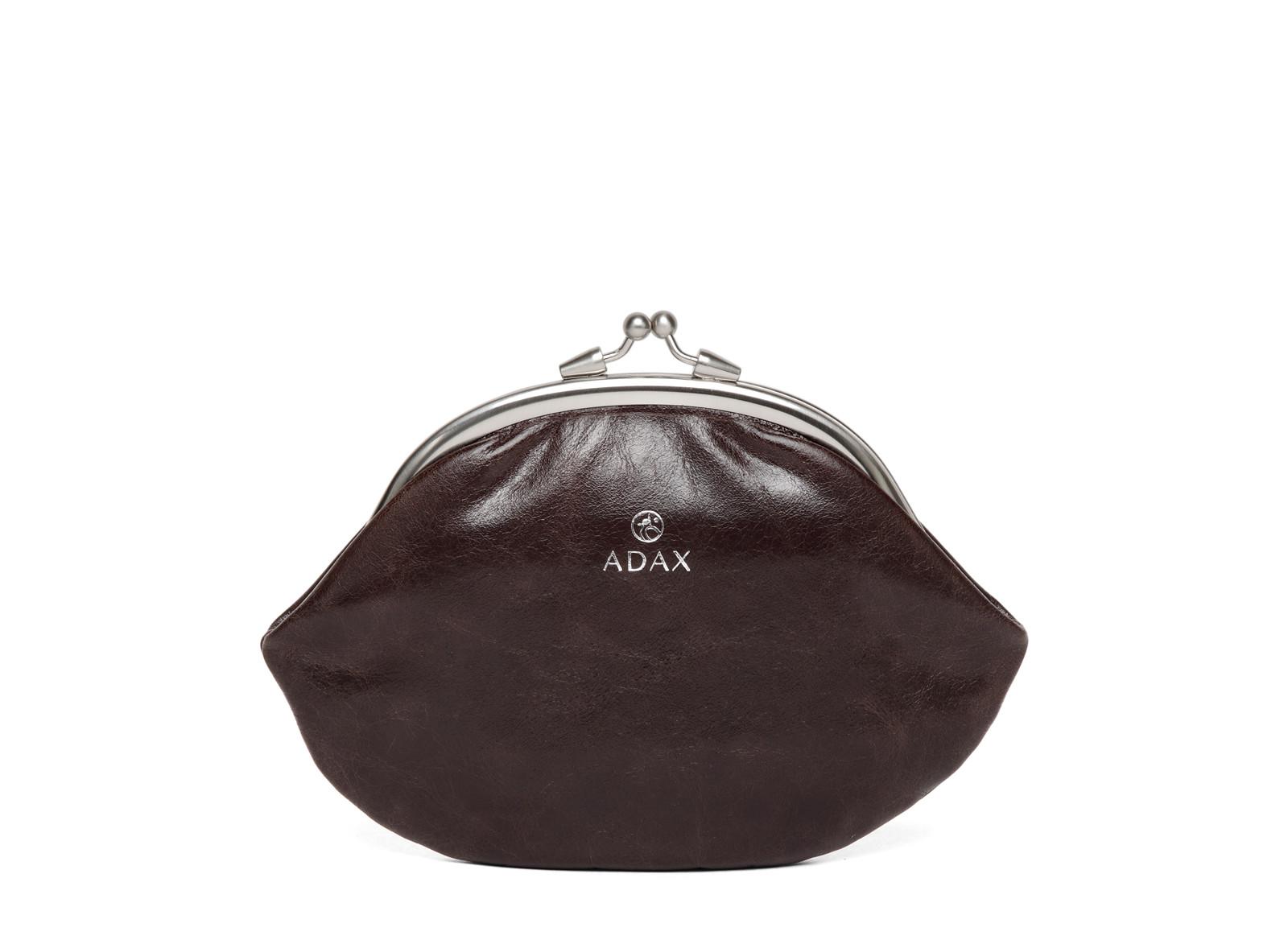 Adax Salerno Ava bøjlepung i skind