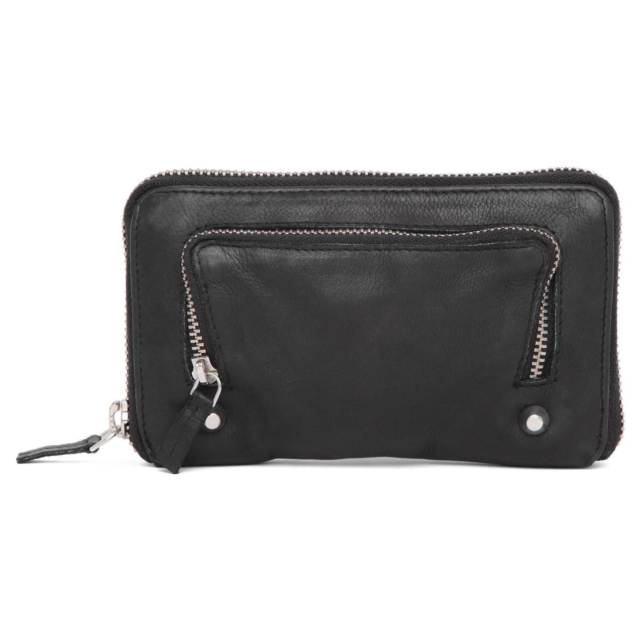 Adax Rubicone Trish pung med lynlås i skind