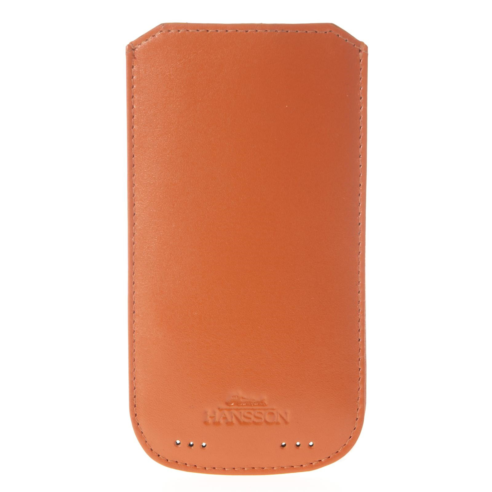 Hansson iPhone cover i skind