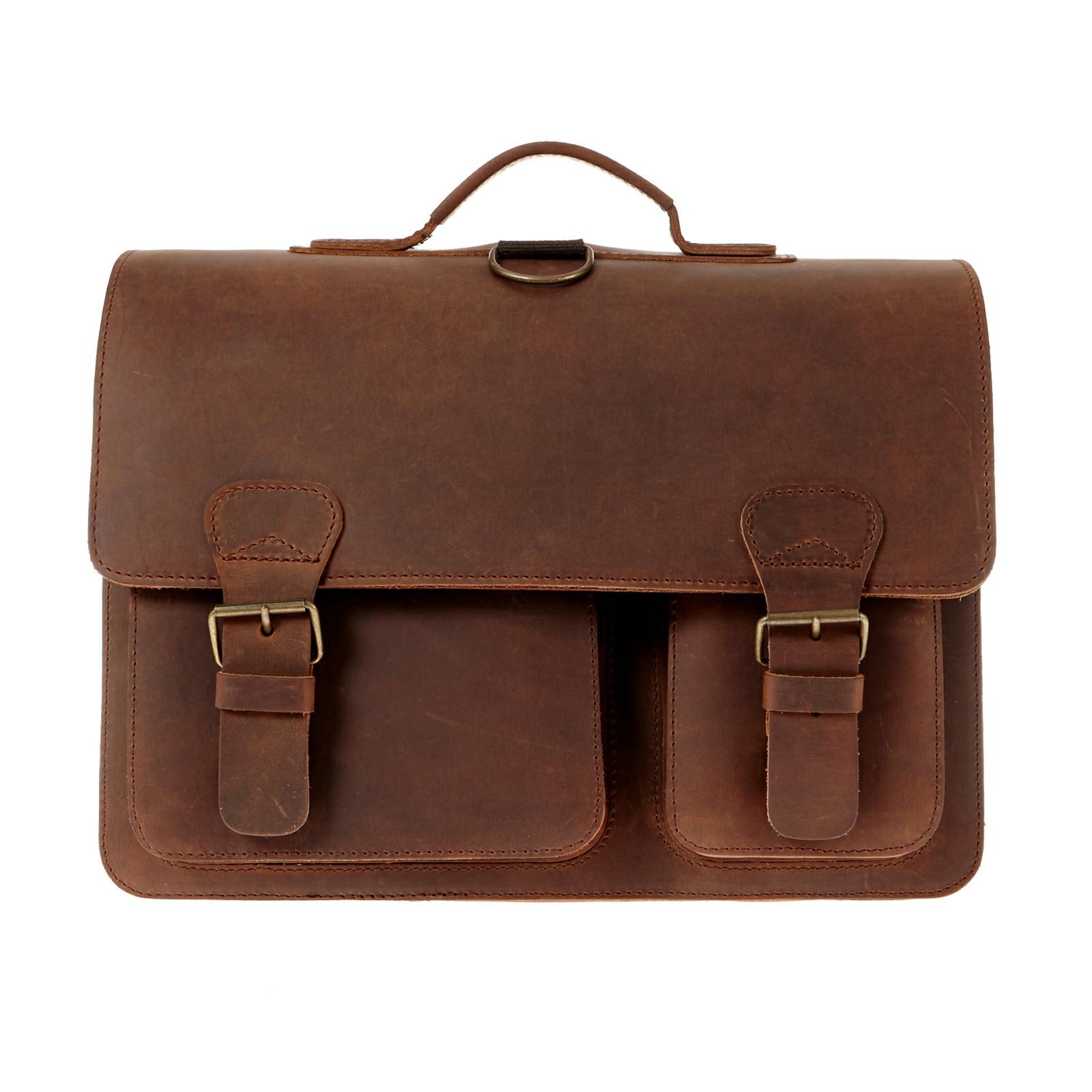 Ruitertassen Ranger skoletaske/rygsæk i støvlelæder