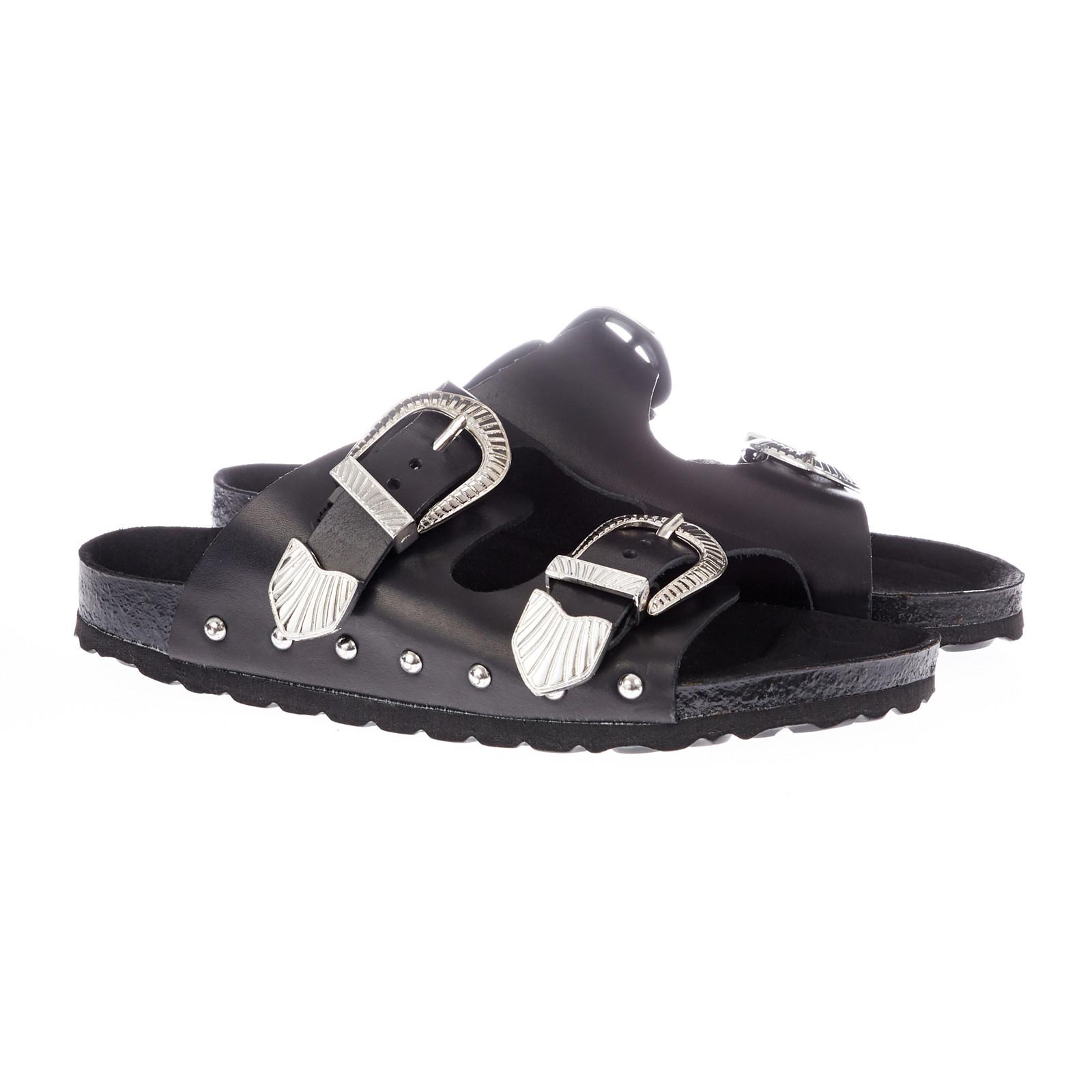 Sofie Schnoor Shoe Rivet flad sandal med spænder
