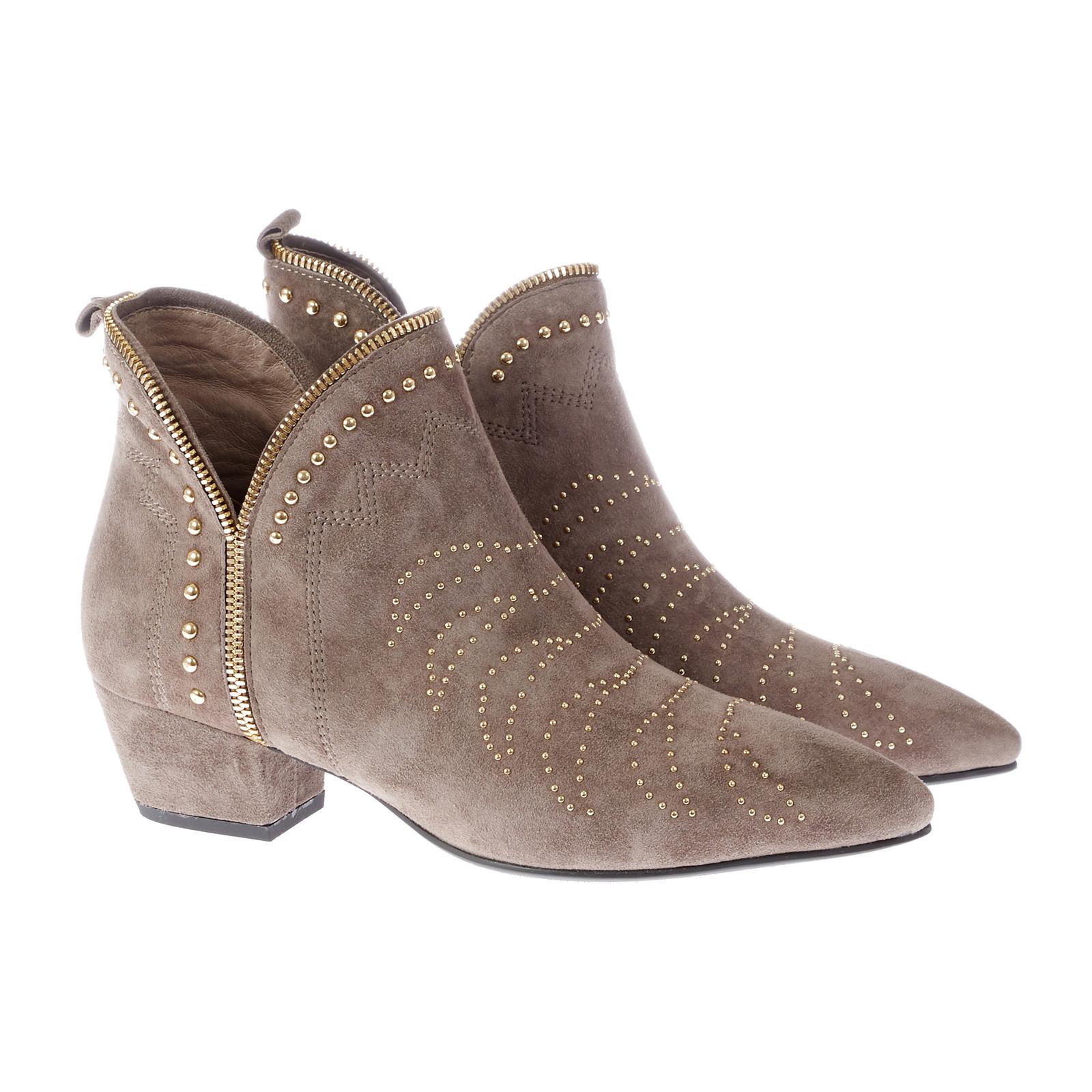 Sofie Schnoor Boot Stitch Suede støvle