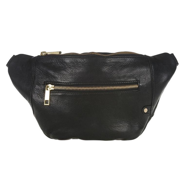 Depeche bæltetaske i skind