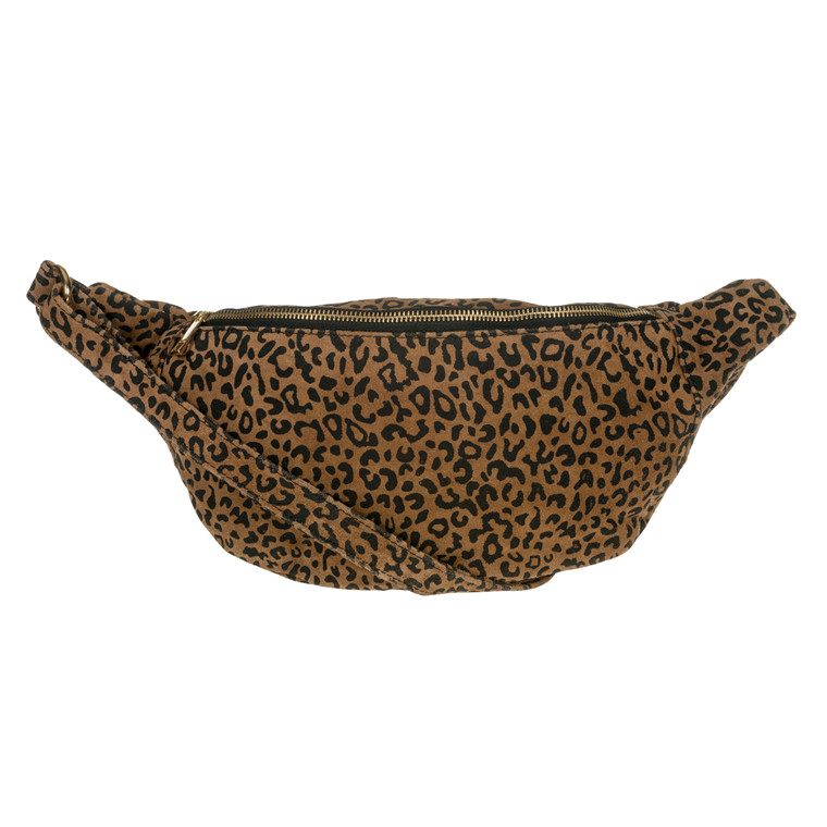 Depeche bæltetaske med leopardmønster