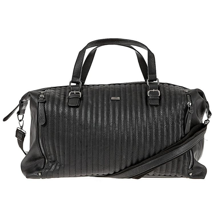 Bon Goût stor taske med hank og lynlås