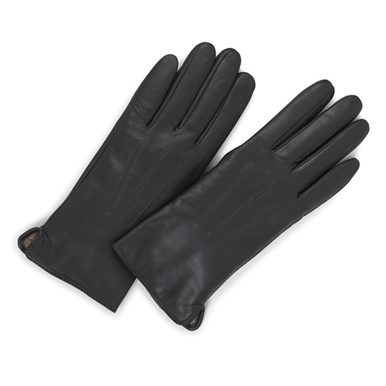 Markberg Abigail Glove i skind med touch funktion