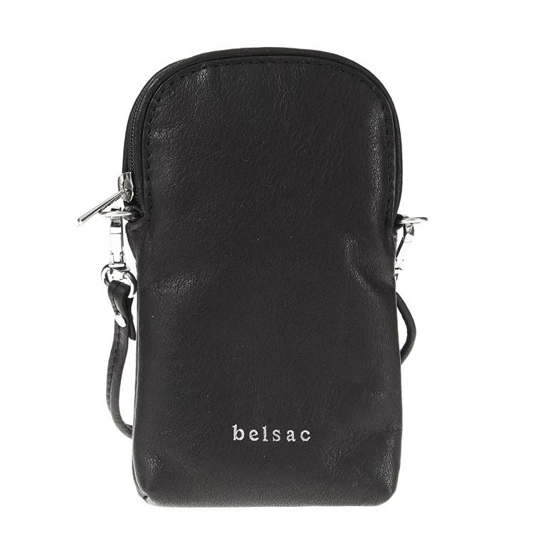 Belsac Halona mobiltaske i skind