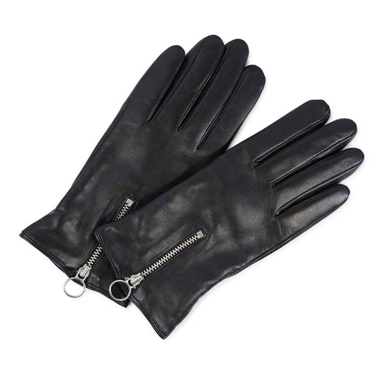 Markberg Asta Glove i skind med touch funktion