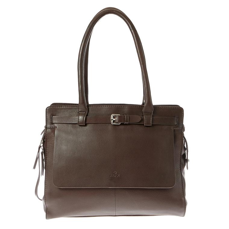 Adax Sorano Saga stor A4 taske med spænde