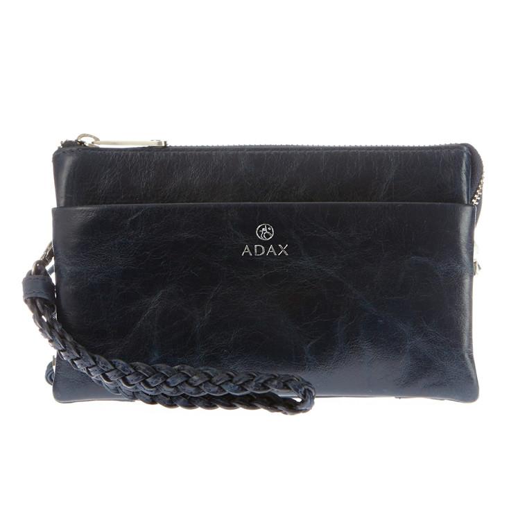 Adax Salerno combi clutch med lynlås