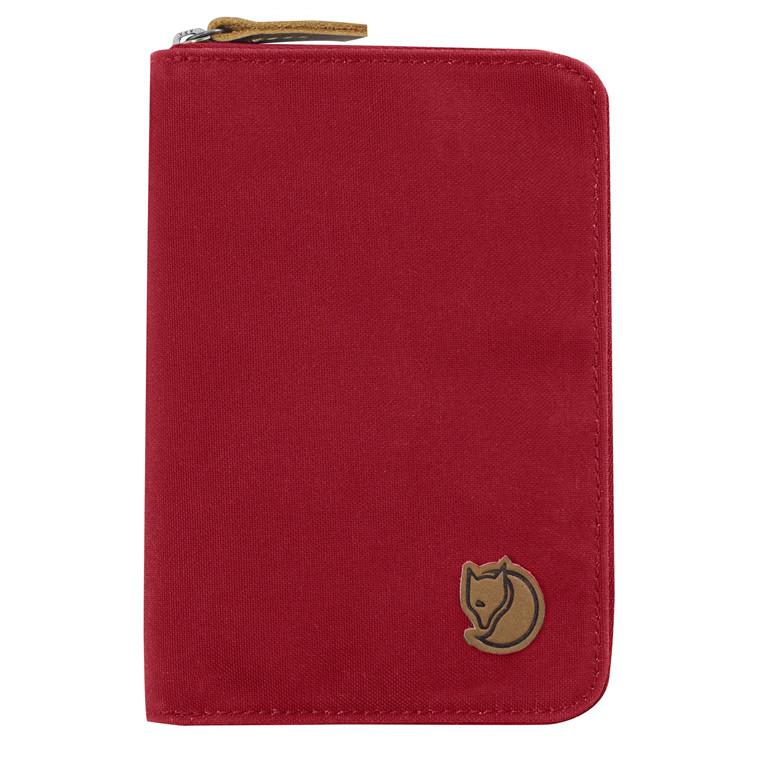 Fjællræven Passport pung med 3 sider og lynlås