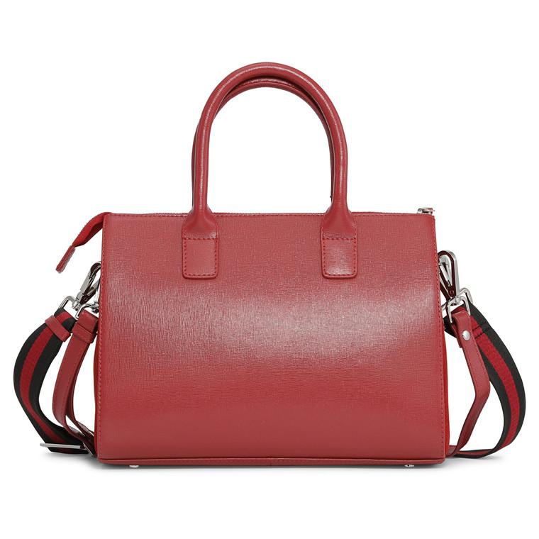 Adax Savona Lola taske i skind med to remme og hank
