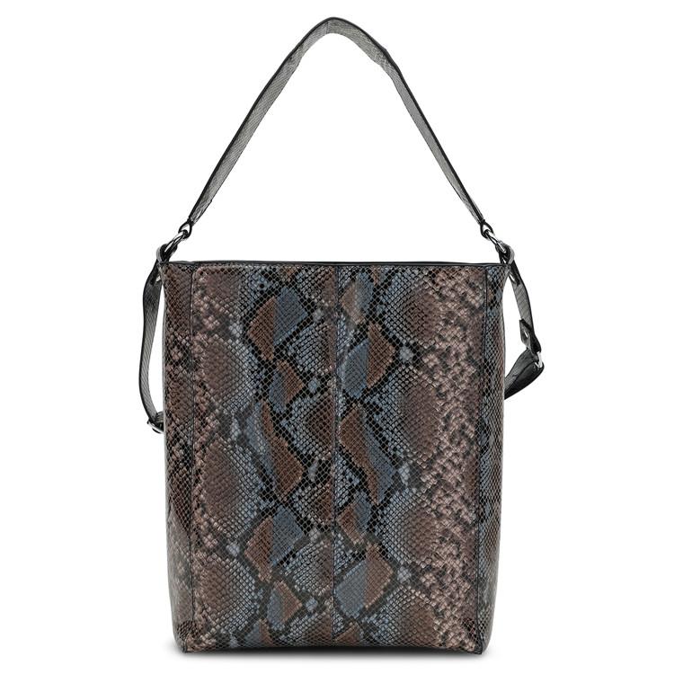 Unlimit Carry shopper med lyn og slange print