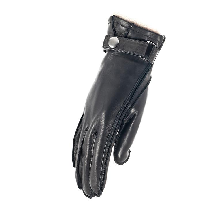 Randers herrehandske i skind m/strop