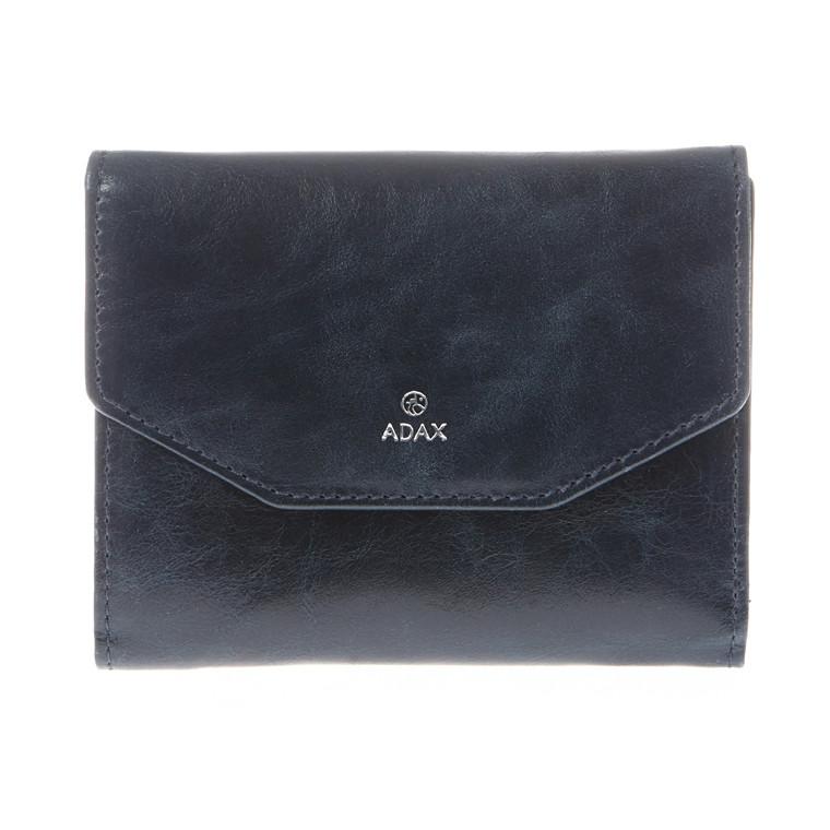 Adax Salerno Sif pung med lynlås og klap