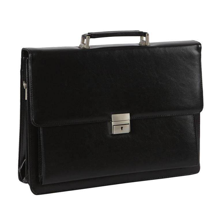 Dønges & Nilges computertaske m/skulderrem