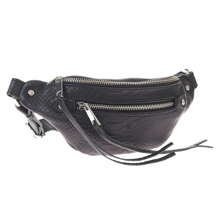 Adax CPH Noho Celine bæltetaske i snakepræg