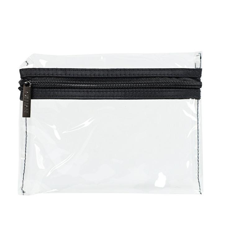 Cimi Check in bag - klar kosmetikpung
