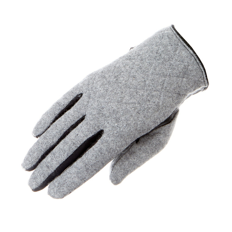 Adax Cph Lona damehandske m/quiltet filt