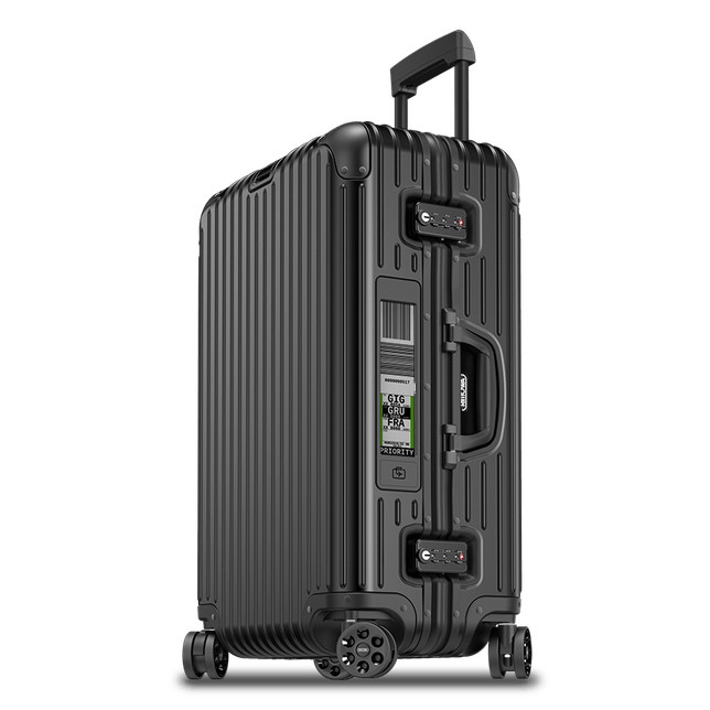 Rimowa Topas Stealth multiwheel med E-tag 69cm