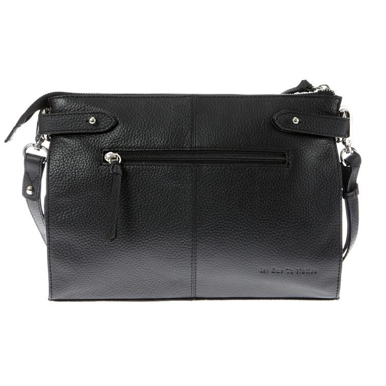 Belsac A4 aflang taske med lang rem