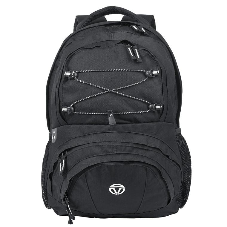 Travelite Basics rygsæk med lynlås og snørreeffekt