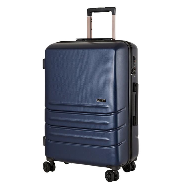 Dønges og Nilges rejsekuffert med fire hjul  63cm