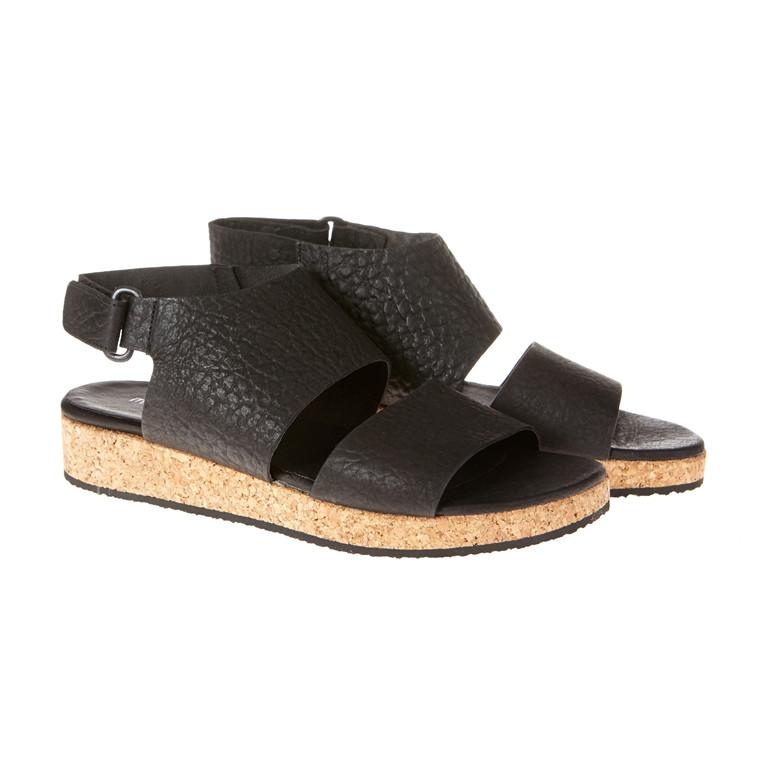 Mentor kork sandal med velcro luk
