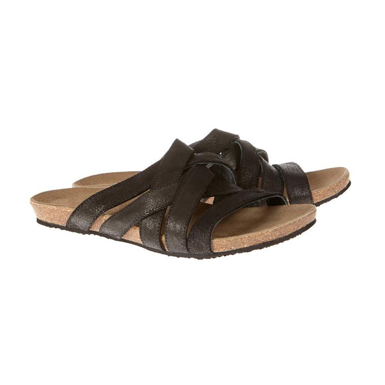 Mentor sandal slippers med korkbund