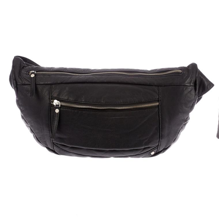 Depeche large Bum Bag med lynlås