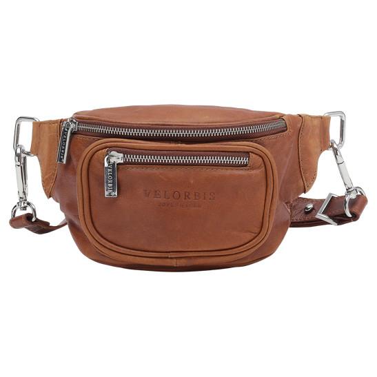 Velorbis lille bæltetaske med skindrem