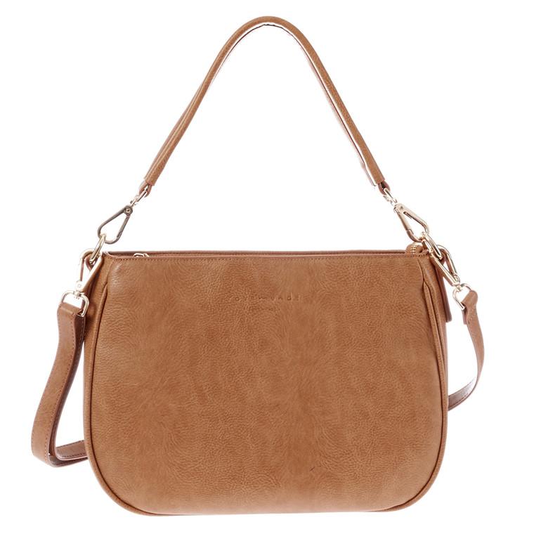 Rosemunde taske m/lynlås og hank