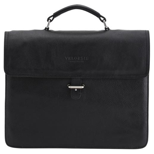 Velorbis Briefcase bag skindmappe med strop