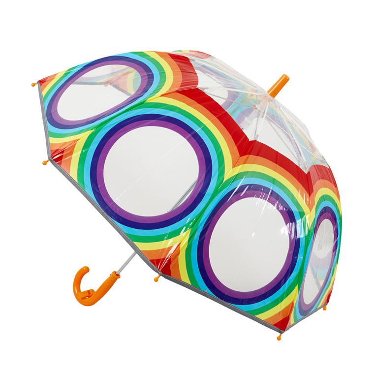Bruuns Smati paraply m/refleks og fløjte