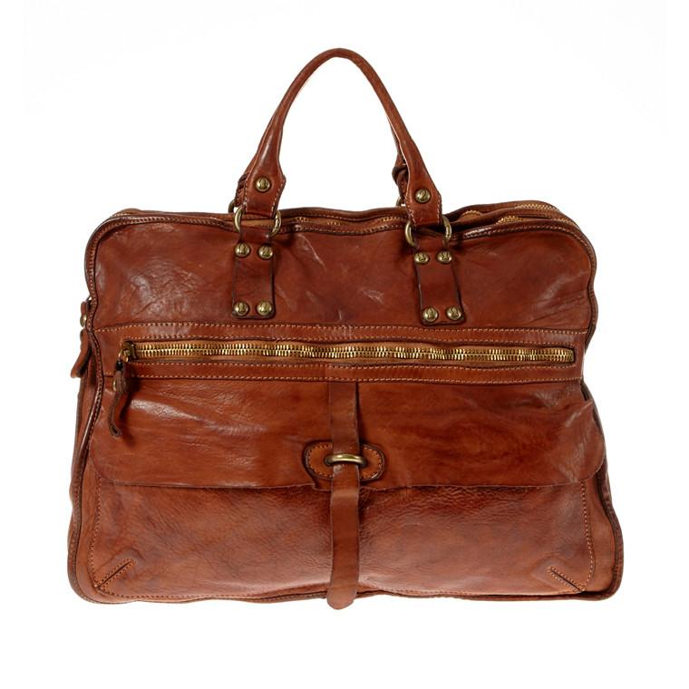 Campomaggi stor taske med 2 rum.