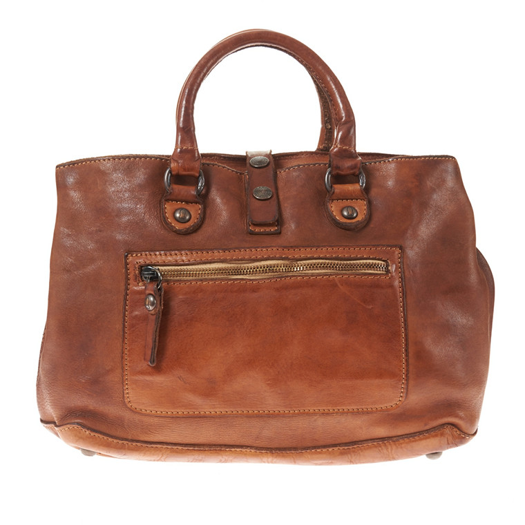 Campomaggi A4 håndtaske i skind