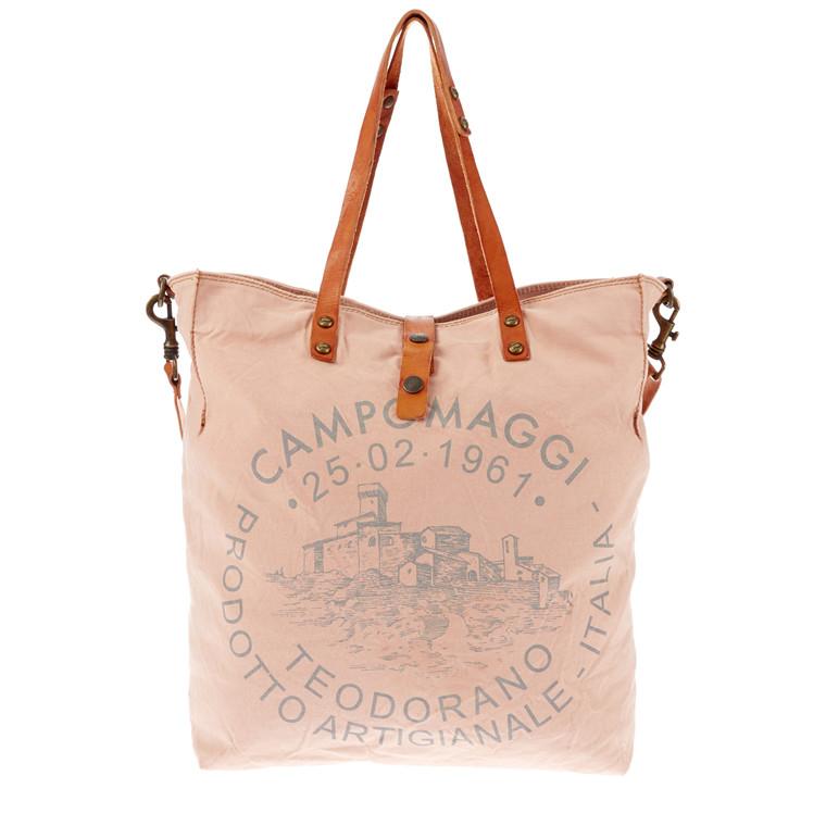 Campomaggi kanvas taske med lang rem