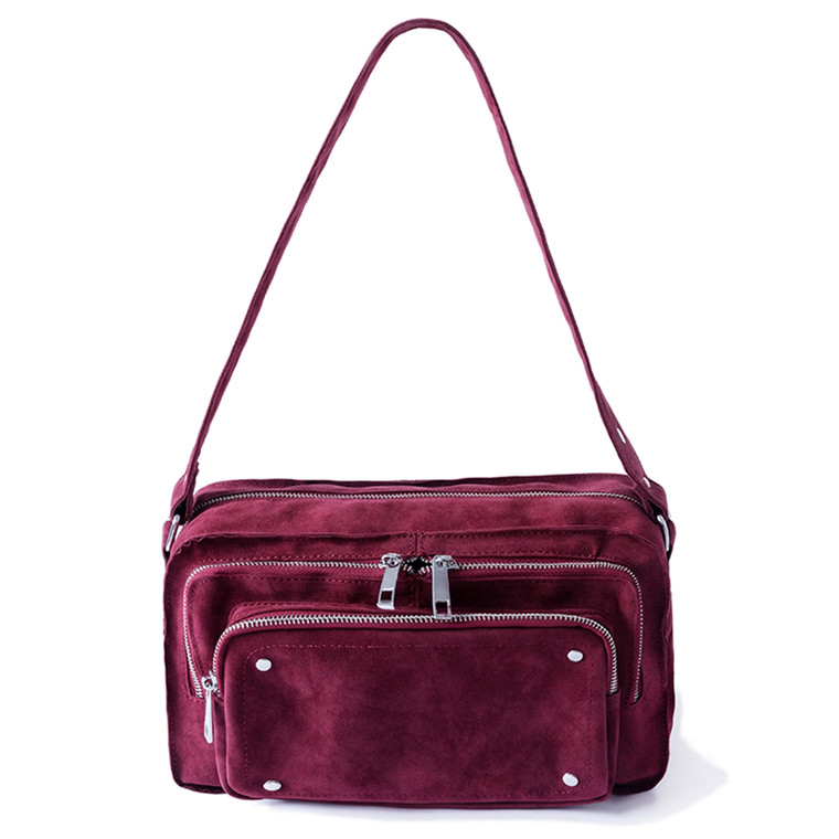 Noella Christell Suede taske med en forlomme