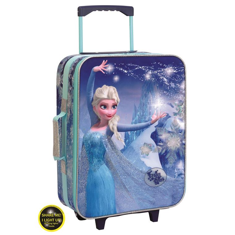 Disney Frozen lille børnetrolley med lys 53cm