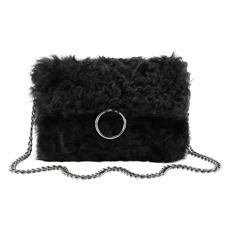 Cosy Concept Fur Fiona taske i krøllet lam
