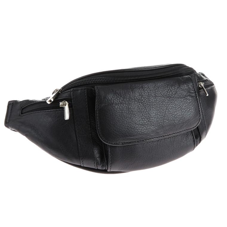 Stephanie bæltetaske i skind