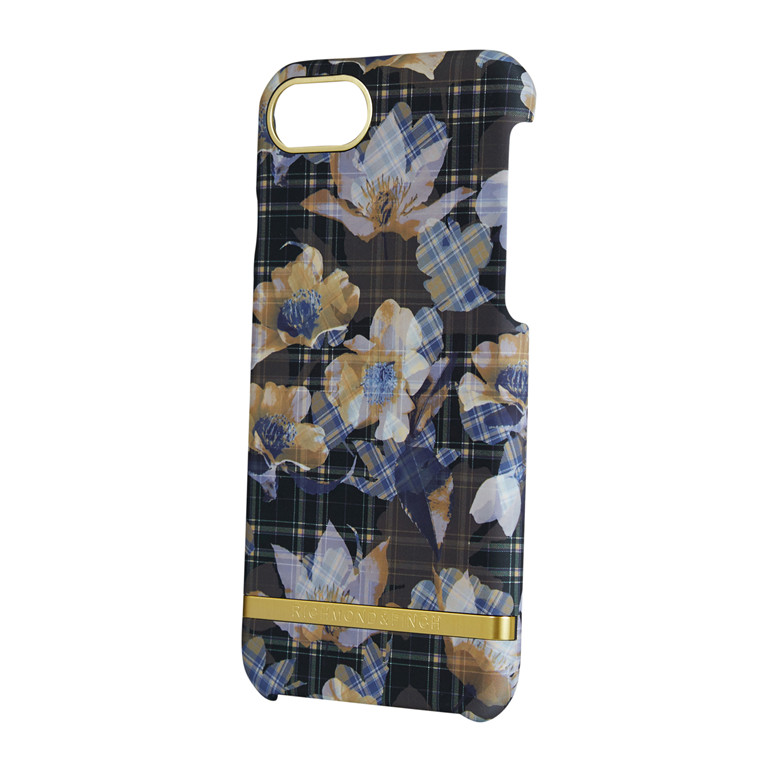 Richmond & Finch Tartan Flowers iPhone 6-8 cover