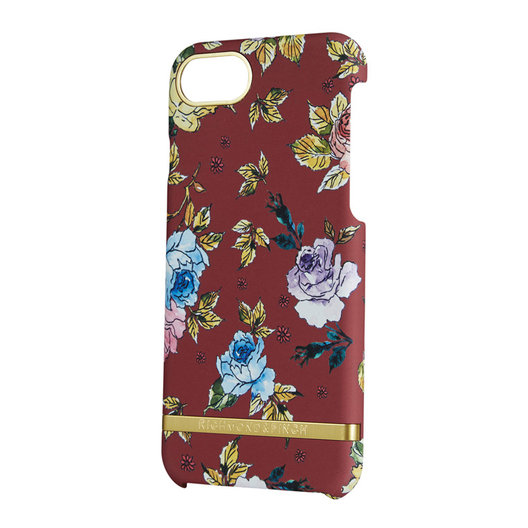 Richmond & Finch Red Floral iPhone 6-7-8 cover