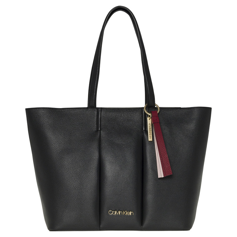 Calvin Klein City Skindshopper med to hanke