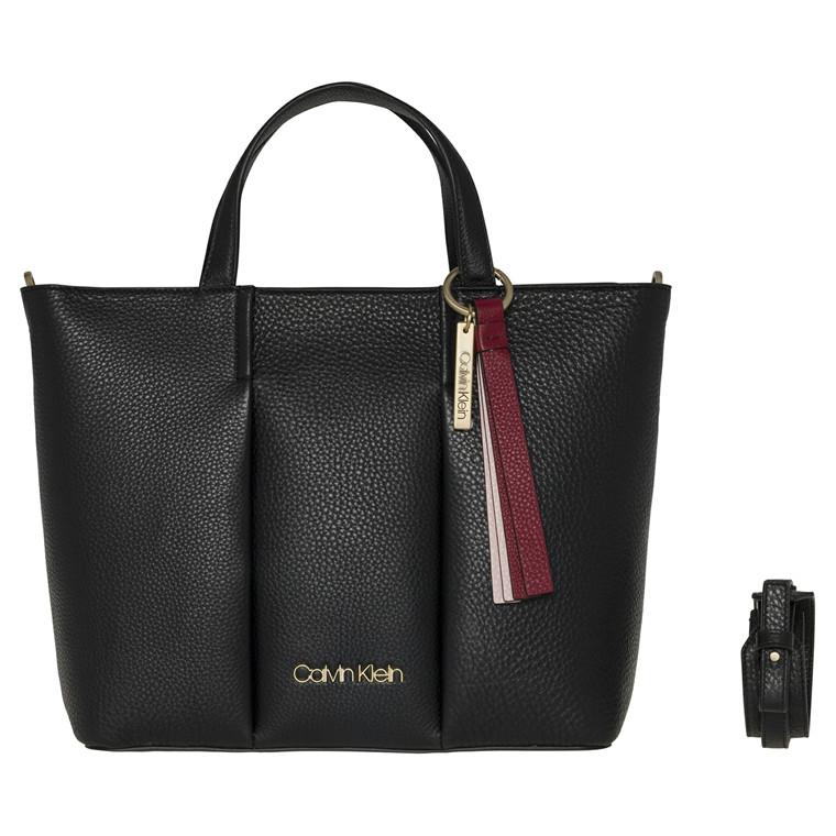 Calvin Klein City Shopper med lang rem og hanke